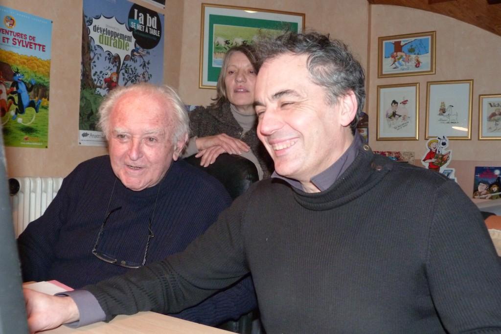 Jean Louis Pesch et Bruno Bertin